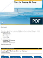 SAP Business Client for Desktop 6.0 Setup