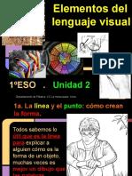 PV1º Unidad 2 - Elementos Del Lenguaje Visual