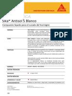 1.2. HT Sika®Antisol S Blanco REV. 04.08.14