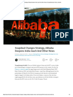 Snapdeal Changes Strategy, Alibaba Deepens India Reach and Other News _ Nirajita Banerjee _ Pulse _ LinkedIn