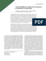 2004 Las Atribuciones de Incontrolabilidad en El Origen de Las Expectativas de Desesperanza en Adolescentes