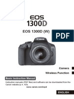 EOS 1300D Basic Instruction Manual En