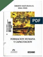 Humberto Maturana - Formación Humana y Capacitación