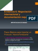 Evidencia 6 Negociación Internacional y Documentación Requerida