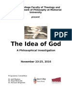The Idea of God - Programme