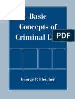 George P. Fletcher-Basic Concepts of Criminal Law (1998)