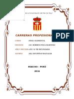 Carreras Profesionales