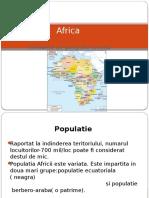 Africa Populatie