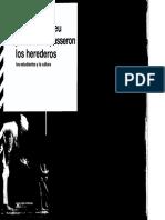 Bourdieu Pierr Los Herederos