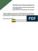 Simulasi JasPel Berdasarkan PMK 19 2014