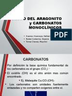 Aragonito y Carbonatos Monoclínicos 2016 1