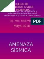 Conferencia CICP Ing Felix Vaca