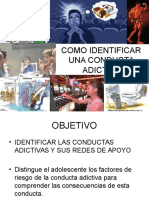 Como Identificar Una Conducta Adictiva