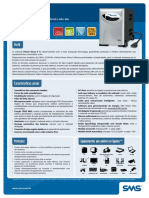 Catalogo Nobreak SMS Senoidal Power Sinus III