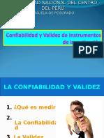 SESION N° 04 - CONFIABILIDAD Y VALIDEZ