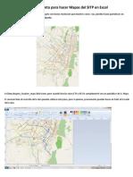 Procedimiento Para Hacer Mapas Del SITP en Excel