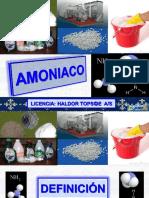 Amoniaco Segun La Licencia Haldor Topsoe