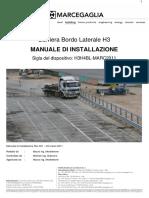 Manuale Di Montaggio H3H4BL-Marc2011