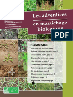 Les Adventices en Maraichage Bio
