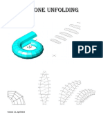 Spiral Cone Unfold