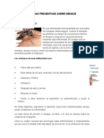 Medidas Preventivas Sobre Dengue