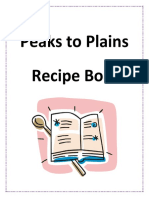 peaks to plains recipe book