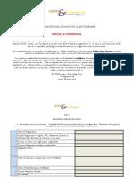 1.Company Diagnosis Questionnaire - Short Version