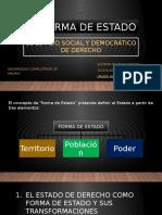 Tema 5. La Forma de Estado. El Estado Social y Democrático de Derecho