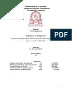 Causas y Consecuencias Socio-económicas de La Migración en El Salvador.
