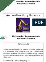 Unidad 1 Automatización y Robótica