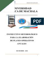 InstructivodeElaboraciónparalosPlanesOperativosUTMACH-20-dic-11.doc