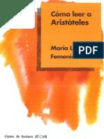 Maria Luisa Femenias - Como Leer a Arist