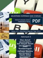 Perhitungan Dan Penjurnalan Transaksi Mudharabah