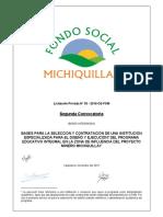 Bases Integradas Segunda Convocatoria L 03 2016 CE FSM