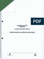 """Resumen Ejecutivo """"Lixiviación de Sulfuros, Sulfolix"""""""