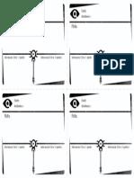 Gumshoe - Cartas de Pistas