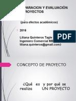 PROYECTOS 2016