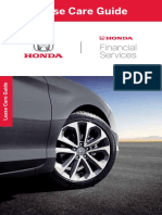 Honda Lease Care Guide En