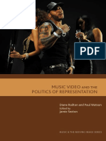 Music and the Moving Image Diane Railton Paul Watson Music Video and the Politics of Representation Edinburgh University Press 2011