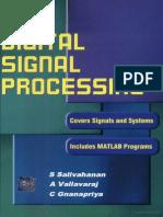 Digital Signal Processing by S. Salivahanan