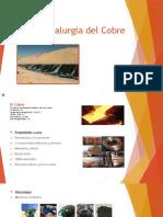 Presentación hidrometalurgia del cobre Chile