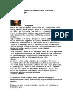 PRESIDENTES CONSTITUCIONALES DELECUADOR