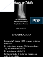 10 - Fracturas de Tobillo Carmona