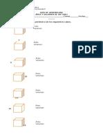 Volumen y Área de Un Cubo Curso