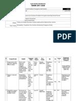 Pelan Taktikal Program Ppda 2017-2020