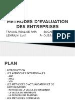 Methodes d Evaluation Des Entreprises