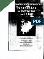 Libro Descodificación Biológica Protocolos de La Salud Flecher