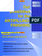 Anti Pilling Finish