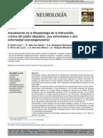 Actualización en La Fisiopatología de La Hidrocefalia Crónica Del Adulto Idiopática ¿Nos Enfrentamos a Otra Enfermedad Neurodegenerativa