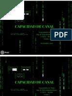 Presentación Capacidad de Canal y Codificación